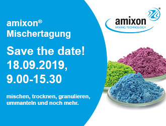 amixon® Mischertagung - Save the date! 18.09.2019