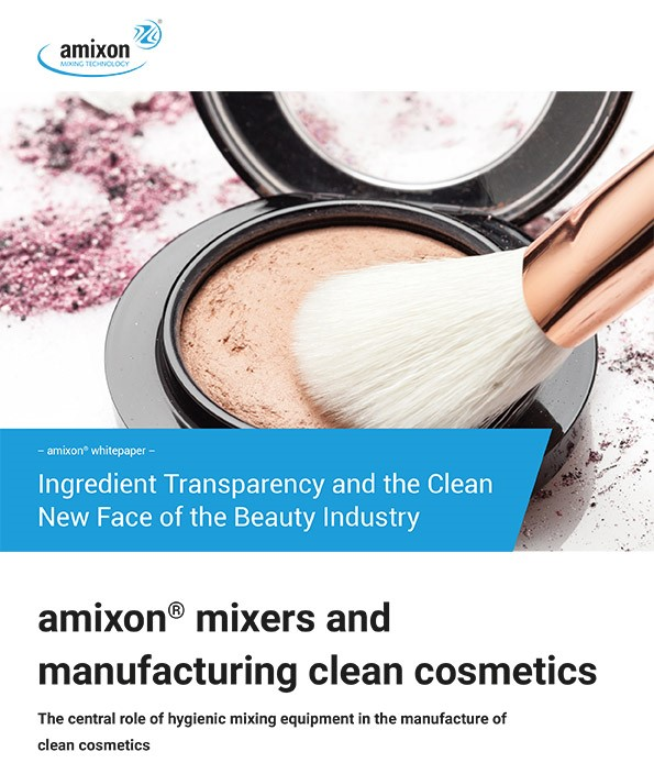 Cosmetics Manufacturing Whitepaper - Clean Beauty and Ingredient Transparency