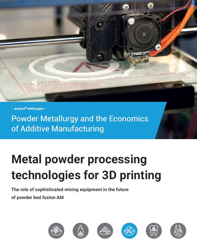 Whitepaper 2020: Mixing metal powders for 3D printing